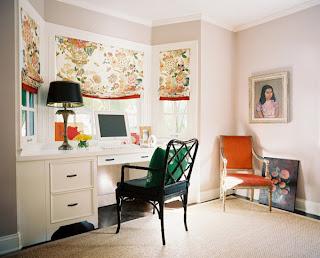 ruang+kantor+di+rumah+minimalis Kombinasi Warna Interior Untuk Rumah Modern