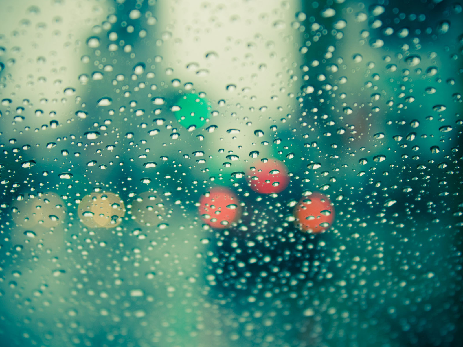 Wallpapers rain drops on glass wallpapers for Window 3d wallpaper