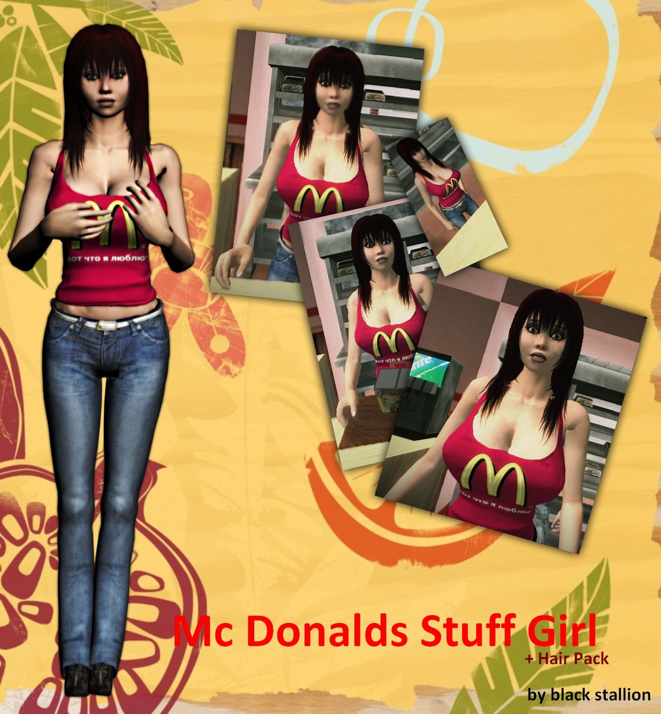 Hot anime girl skin for gta sa anime images