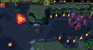 DotA Map 6.75 Print Screen