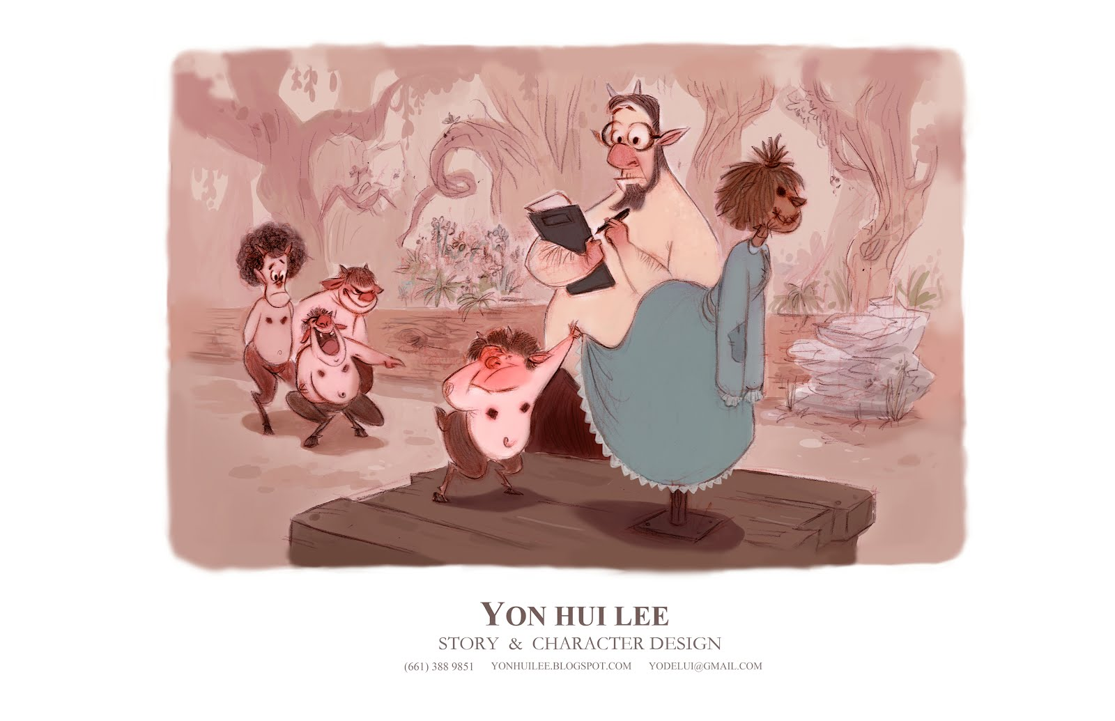 Animation Character Design Portfolio : Yon s portfolio yon s story character design portfolio