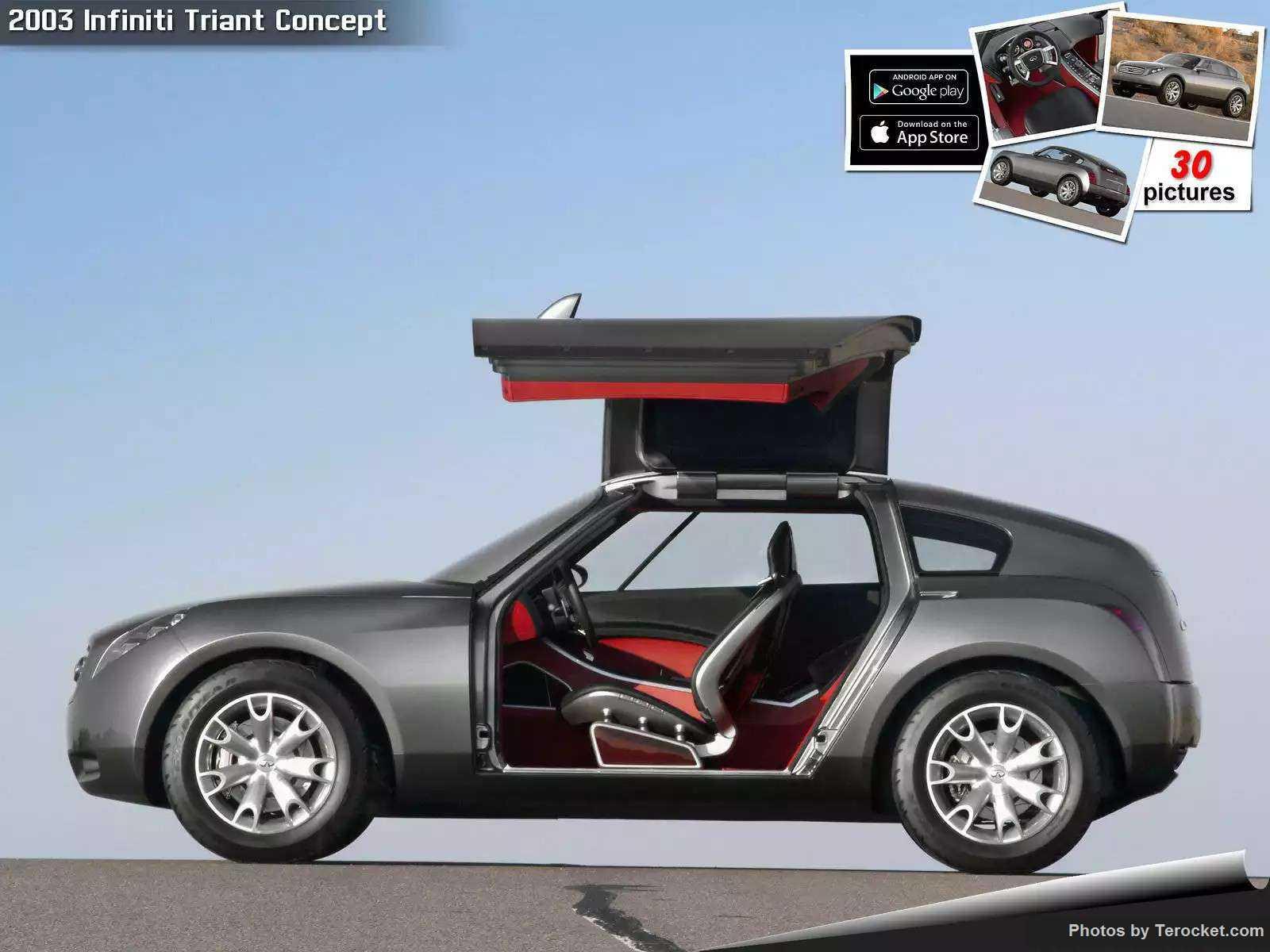 Hình ảnh xe ô tô Infiniti Triant Concept 2003 & nội ngoại thất