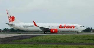 Pesawat Lion Air Jatuh Lagi