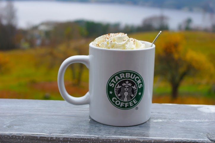 A picture of a pumpkin spice latte recipe