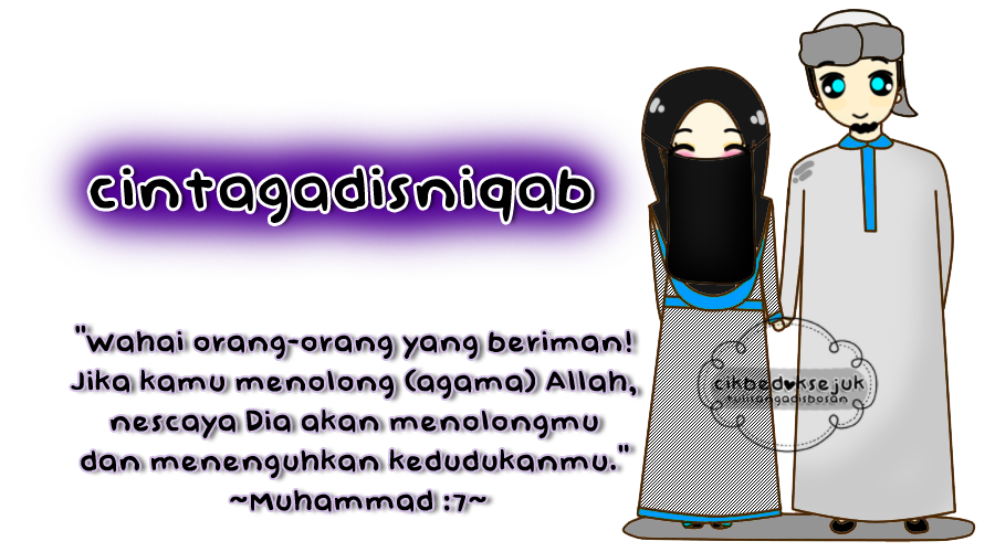 cinta gadis niqab