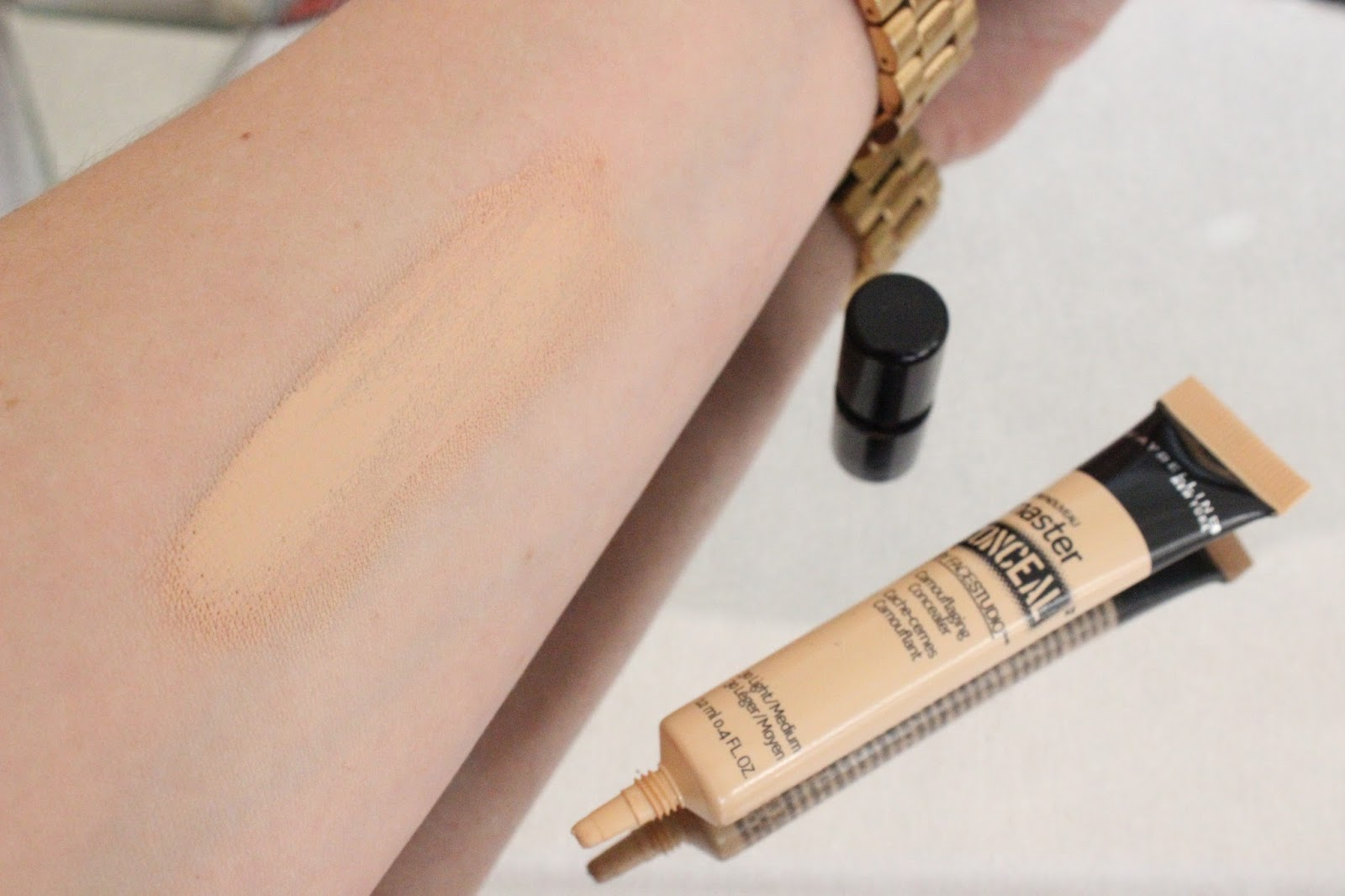 maybelline concealer how to use
