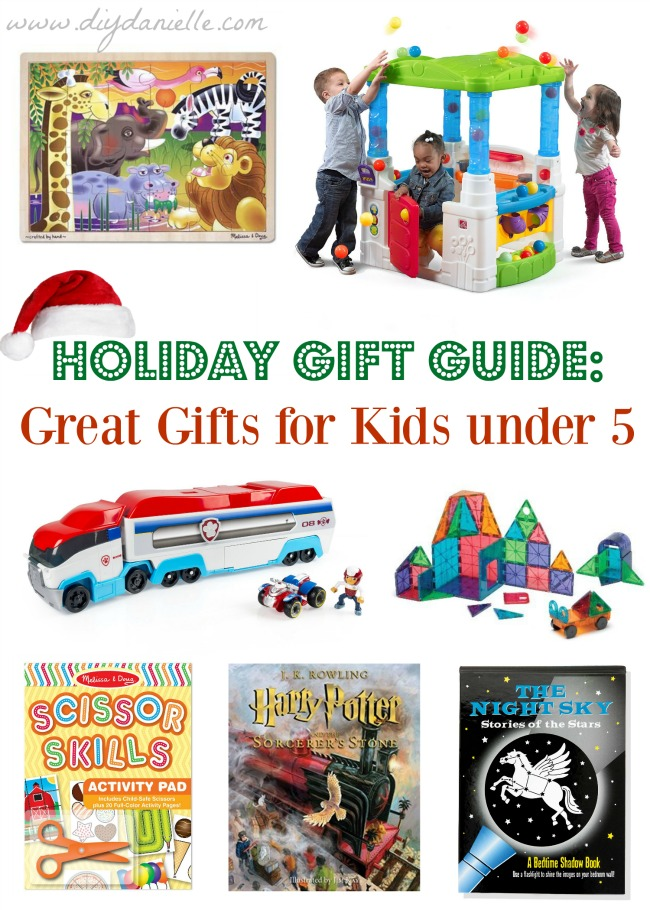Gift Ideas for Children under 5 years old