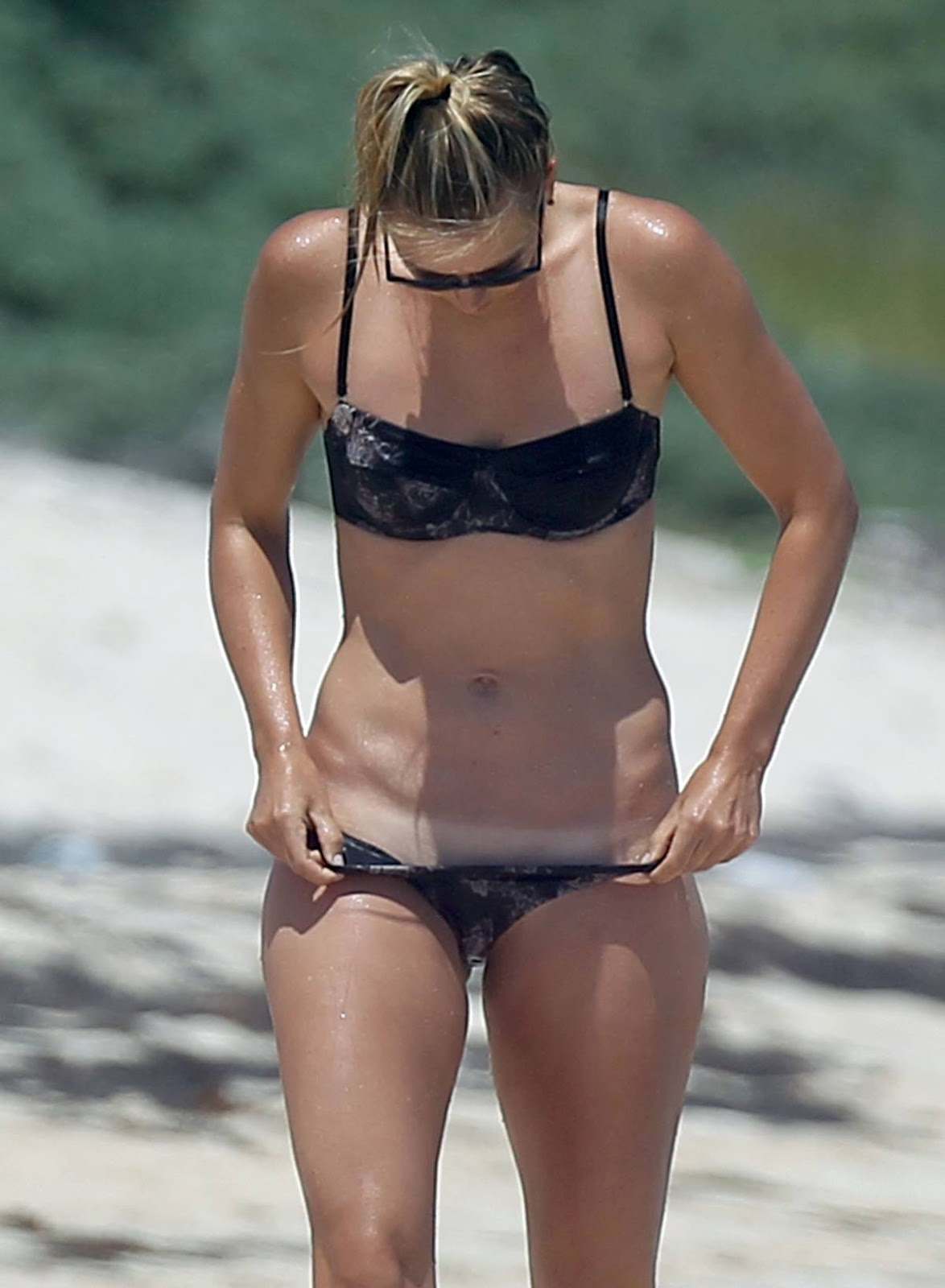 Maria Sharapova - Bikini Photos in Mexico