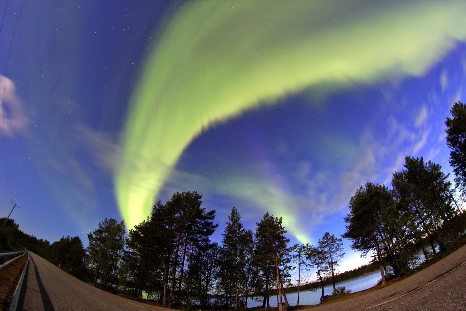 Bienvenidos al nuevo foro de apoyo a Noe #271 / 30.06.15 ~ 03.07.15 - Página 38 Aurora+Boreal+captada+en+Rovaniemi+...