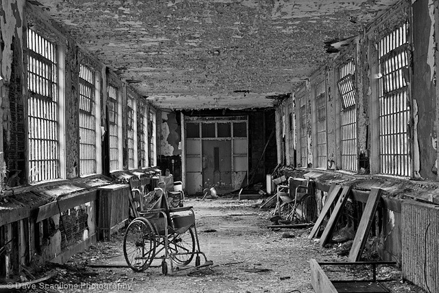 Abandoned Places: Unknown Mental Institution