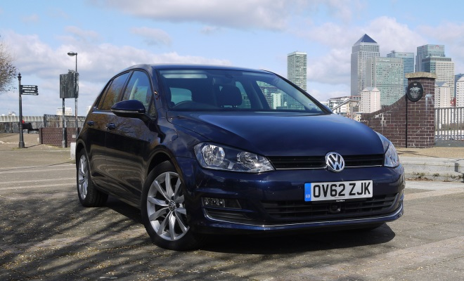 VW Golf 7 GT front view