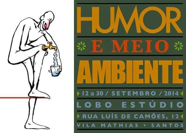 Exposição Humor e Meio Ambiente