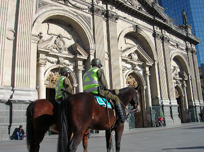 Catedral Metropolitana de Santiago de Chile, Santiago de chile, Chile, vuelta al mundo, round the world, La vuelta al mundo de Asun y Ricardo