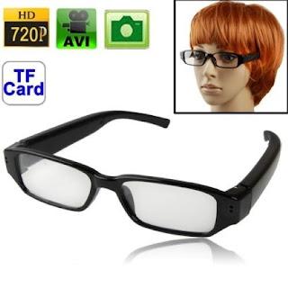 occhiali spy cam