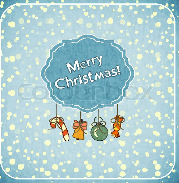 Merry Christmas Wishes Holder  card