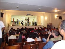 Visão  do  Auditório Silvio Deolindo Fróes  na  SEMANA  DA  MÚSICA 2011