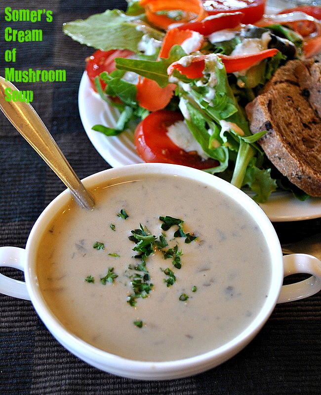 Cream of Mushroom Soup Vegan