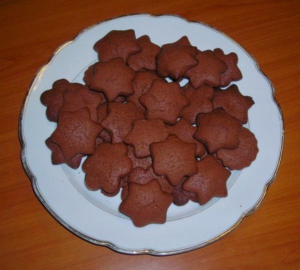вкусные печенья с какао рецепт с фото