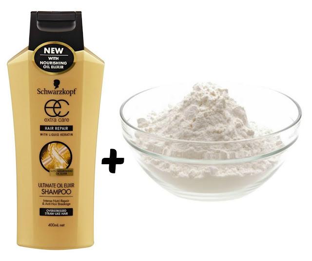 Eliminar la caspa con Bicarbonato