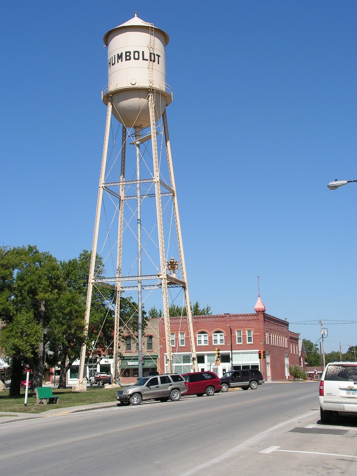Kansas allen county iola -  Is One Of Those Towns With A Big Water Tower Downtown Sometimes These Structures Are On The Outskirts When I M Driving To A Small Community In Kansas