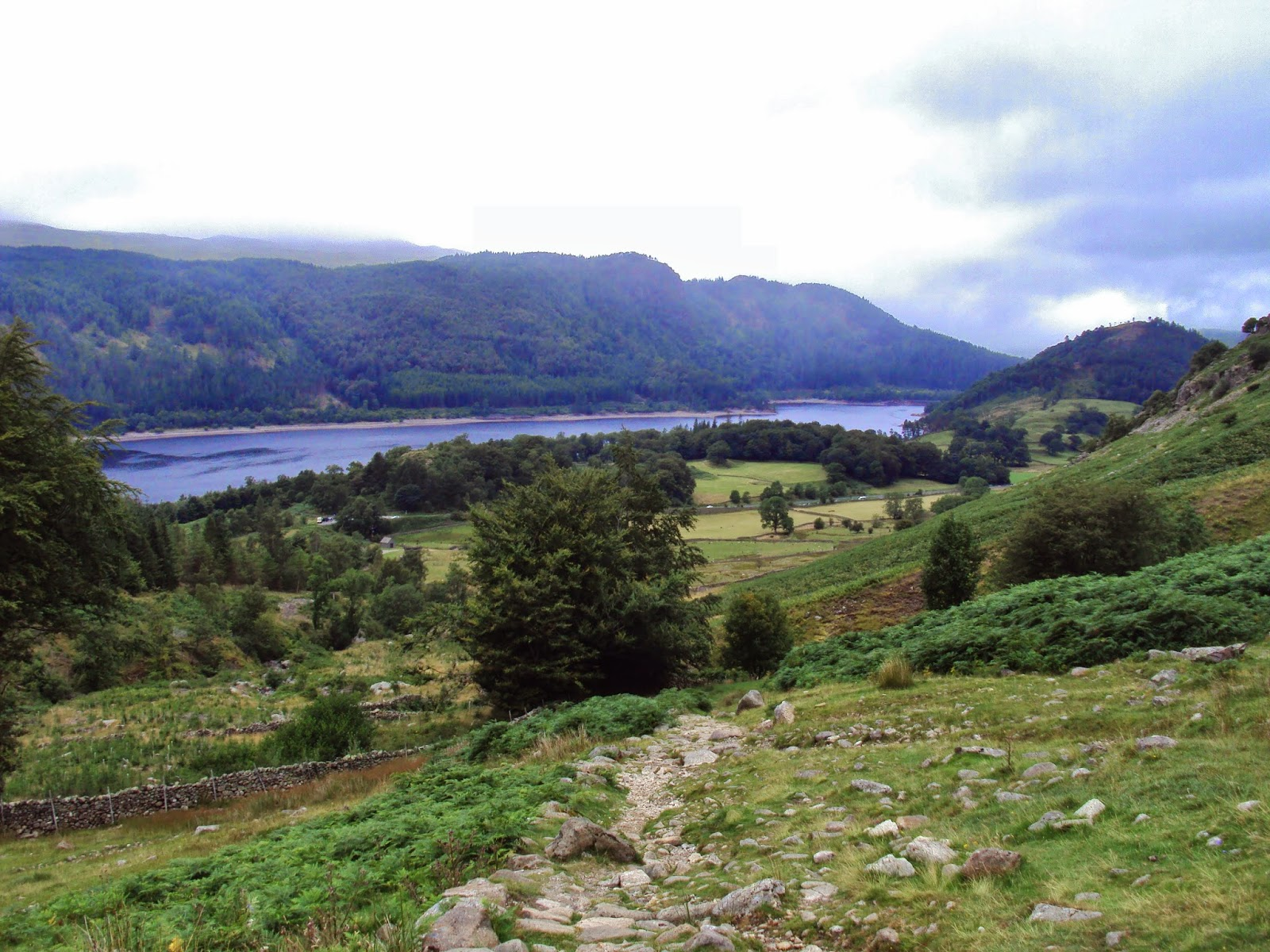 Lake District Mount Helvellyn, Lake Thirlmere