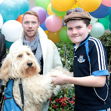 Ronan Keating celebrating World Autism Day 2012 in Dublin with Clive &amp; Murray ....