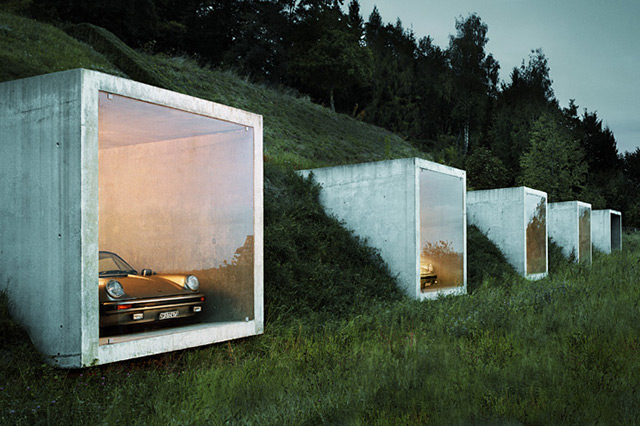 {Architecture} A garage with a view Peter Kunz Architectur