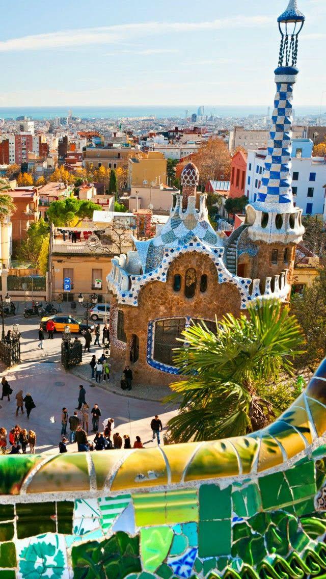 Barcelona-Gaudi Park-Spain