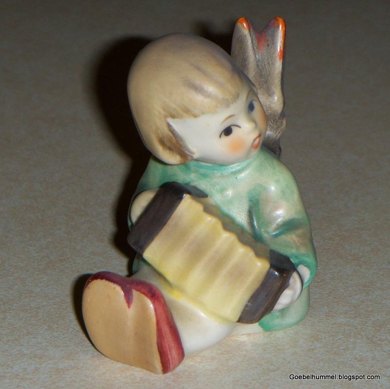 Goebel hummel angel with accordion hummel figurine 238b tmk4 - Angels figurines for sale ...