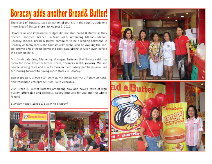 Bread & Butter's Newest Store!