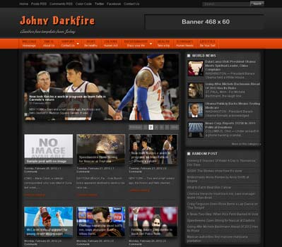 Johny-Darkfire-blogger-template