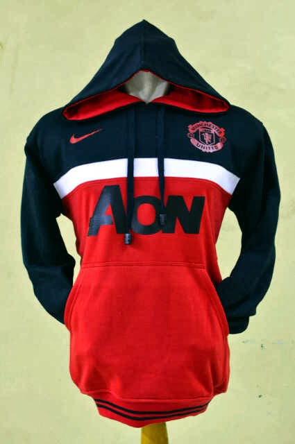 Jumper Hoodie Bola 3D Manchester United Black-White-Red.jpg