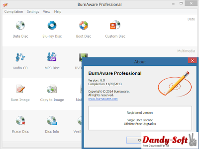 BurnAware Professional 6.8 Full Version