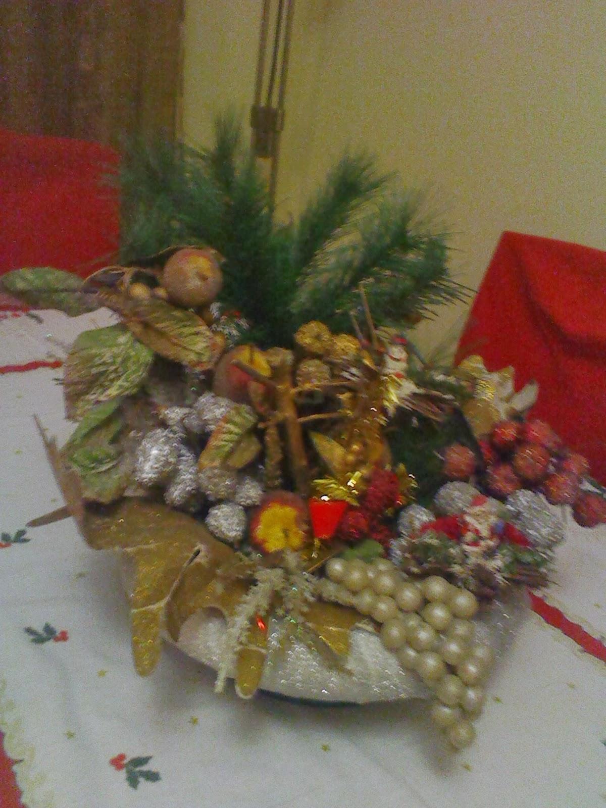 decoracao de sala humilde : decoracao de sala humilde:Pratos da Bela: A nossa decoração de Natal