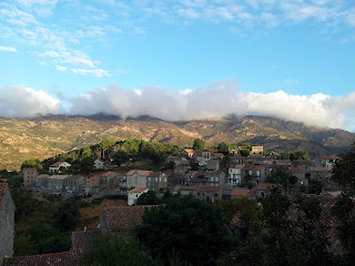 le temps à Aullène en Alta Rocca 31 août 2012