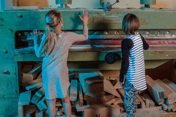 Stripes and moths by Nosweet for spring 2014 kidswear collection