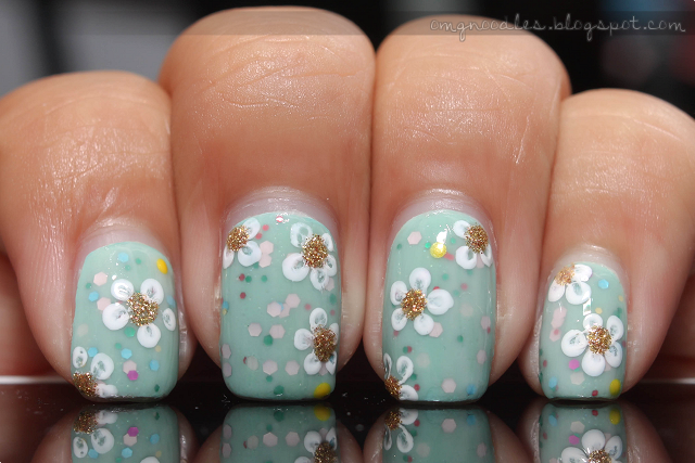 Flowers Nails & March Nail Polish Haul