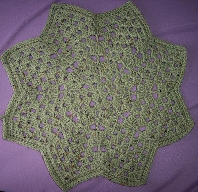 Free Crochet Patterns Round Ripple Afghan