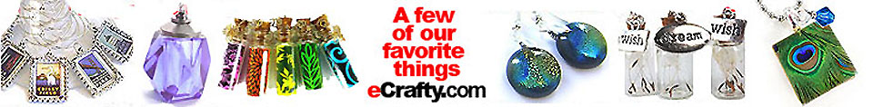 eCrafty.com's Quick Ideas for Beading, Crafts, & Jewelry Making Fun