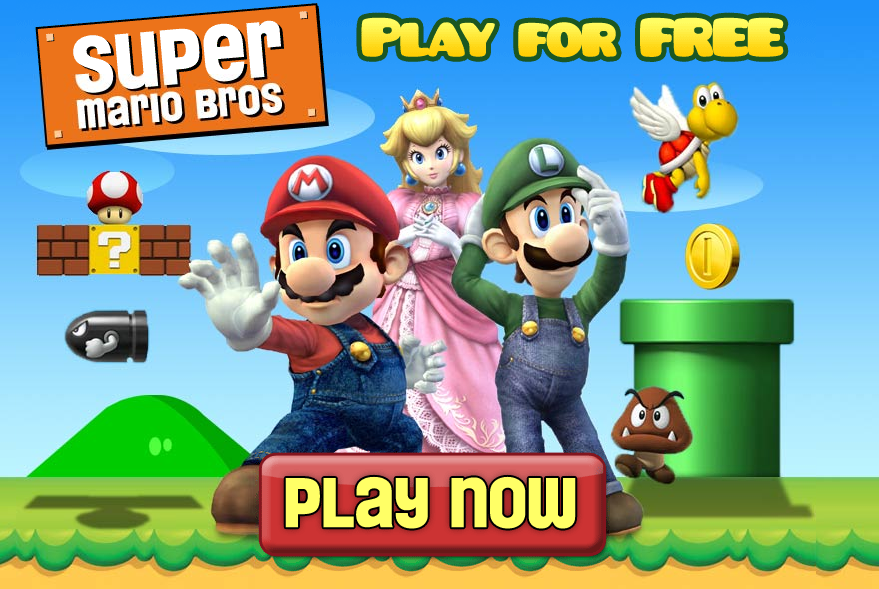 free online old super mario games to play now