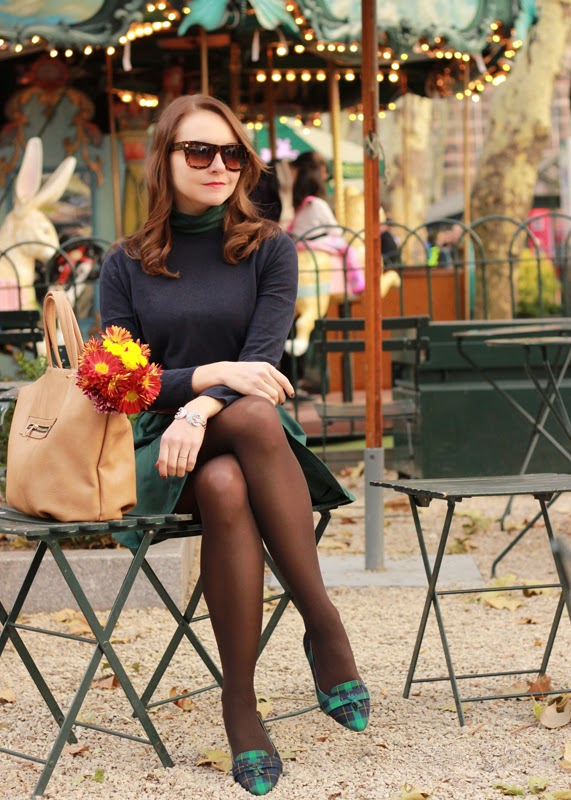The Steele Maiden: Thanksgiving Day Outfit with Sole Society Plaid Loafers