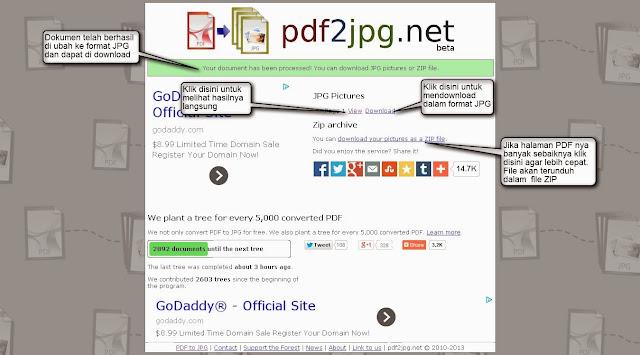 Cara Mengubah Dokumen PDF ke Format JPG