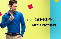 Snapdeal: Buy Men Trousers & Clothing flat 50% – 80% off &: Buytoearn