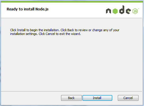 how to install node.js on live server