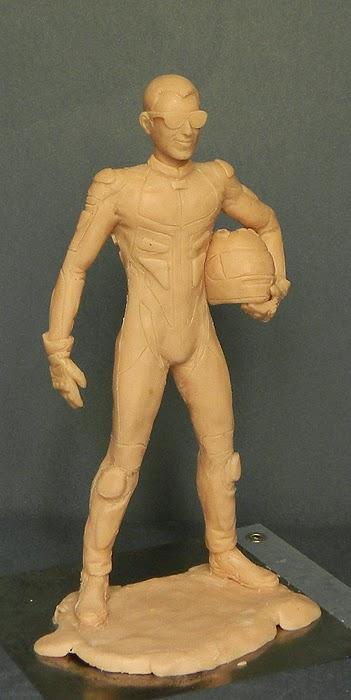 statuetta modellino da colorare action figure fatte a mano orme magiche