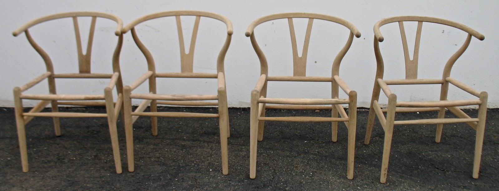 the craftsman wegner wishbone chair with danish cord
