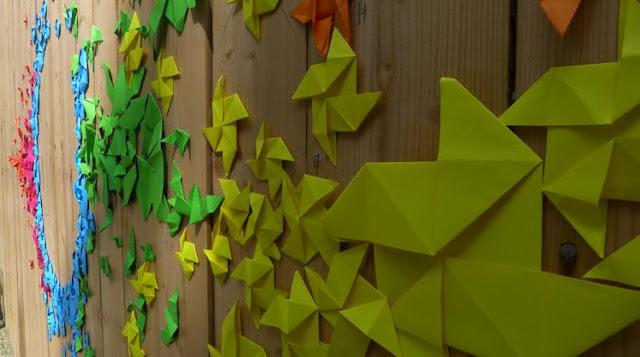 Mademoiselle Maurice origami