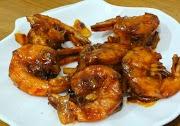 Resep udang goreng bumbu saus madu