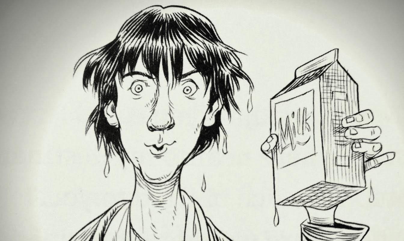Transatlantic Bibliophilia: Fortunately, the Milk... by Neil Gaiman