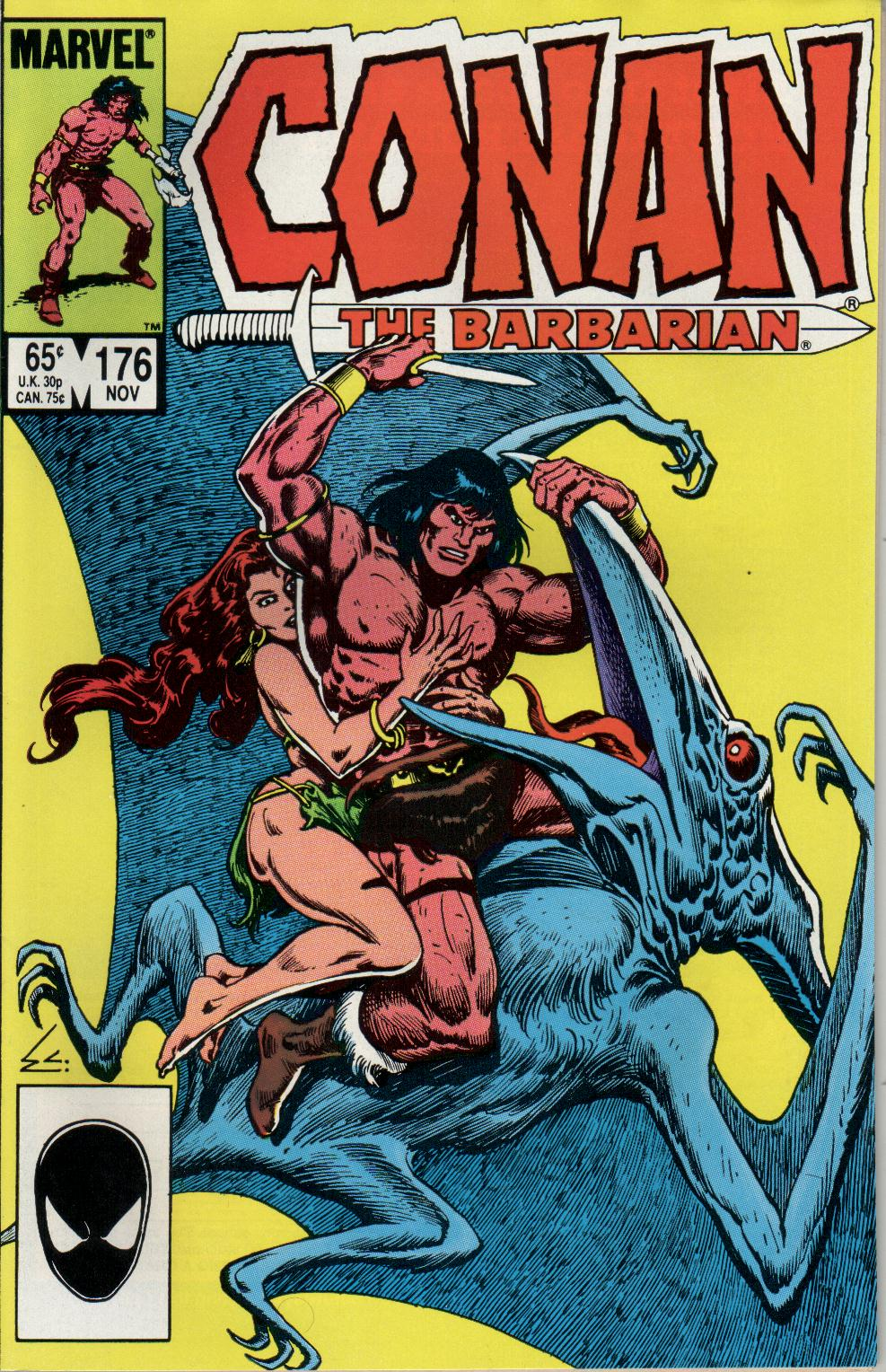 Conan the Barbarian (1970) Issue #176 #188 - English 1